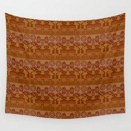 Adinkra Print Wall Tapestry