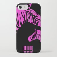 code iPhone & iPod Cases featuring Zebra Code by nessieness