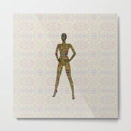 Portrait of A Woman of Color Metal Print
