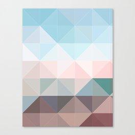 Apex geometric Canvas Print