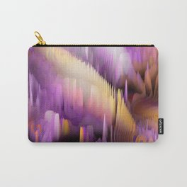Purple Cave Carry-All Pouch