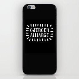 Gjengen allianse iPhone Skin