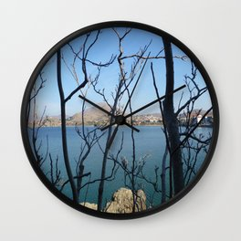Twisted Trees Wall Clock