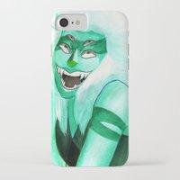 malachite iPhone & iPod Cases featuring Malachite by Moth Studios Art