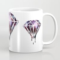 diamond Mugs featuring Diamond by jeff'walker