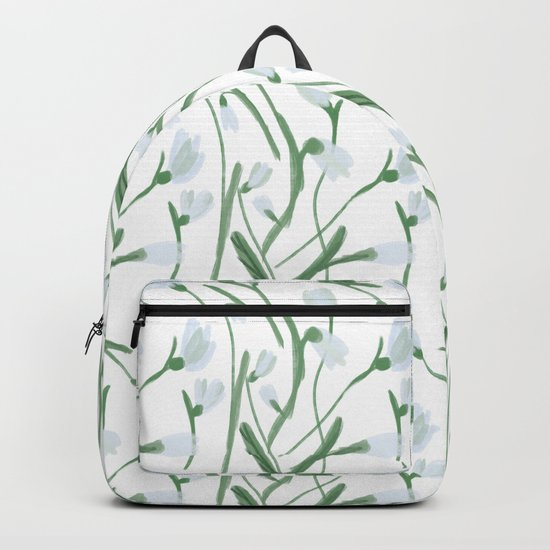Snowdrops Backpack