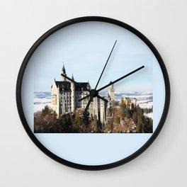 Castle Neuschwanstein Wall Clock