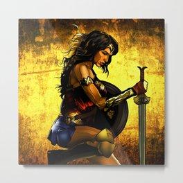 Amazonian Woman Metal Print