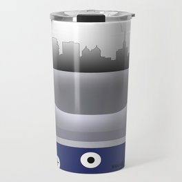 Buffalo - BUF -Airport Code & Skyline Travel Mug