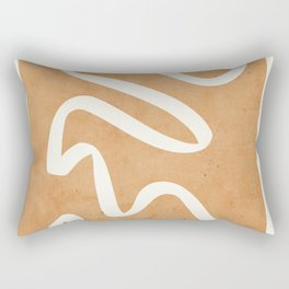 abstract minimal 31 Rectangular Pillow