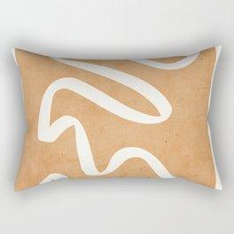 abstract minimal 31 Rectangular Pillow