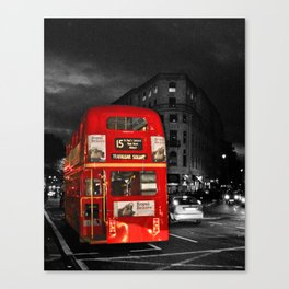 Red Routemaster London Bus Canvas Print