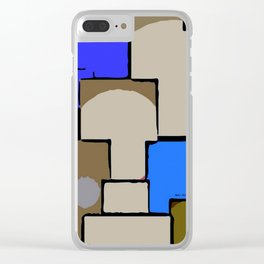 Tunnels Clear iPhone Case