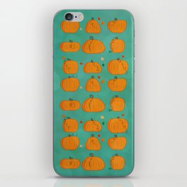 pumpkins iPhone Skin
