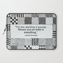 Made of Everything Laptop Sleeve