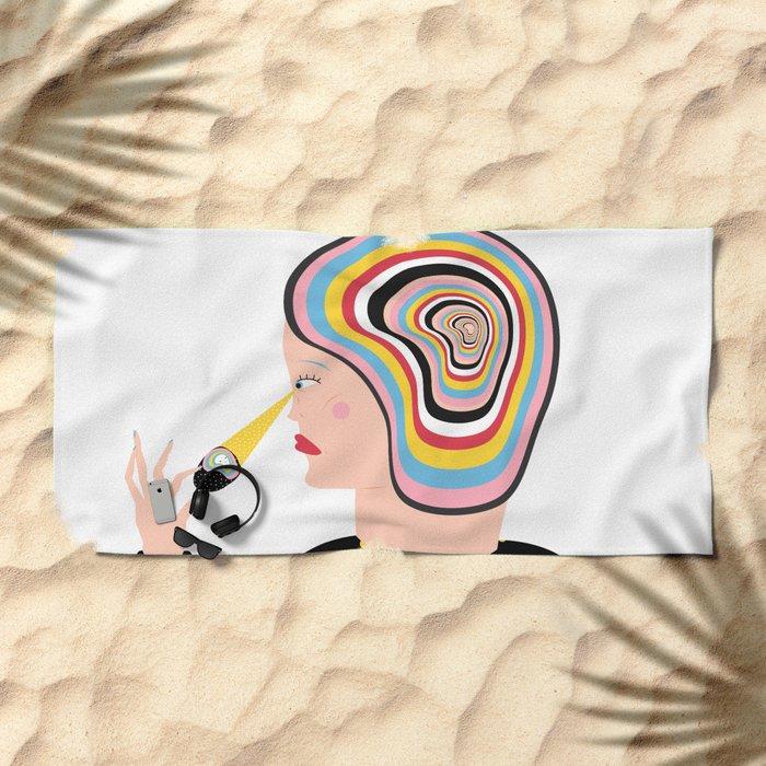 crystal Beach Towel