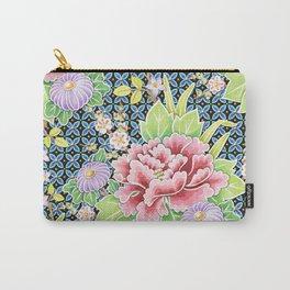 Kimono Bouquet Brocade Carry-All Pouch