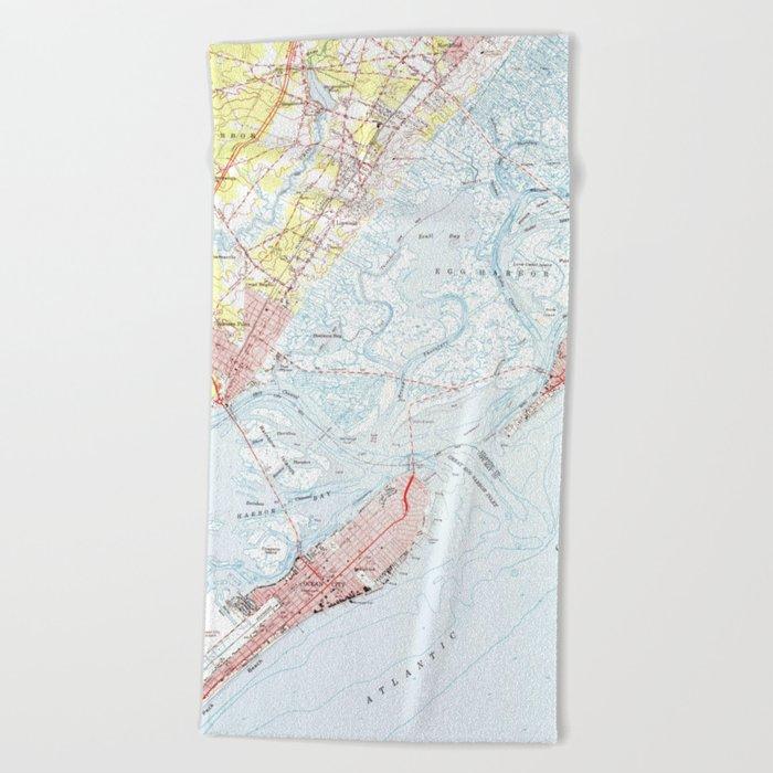 Vintage Map of Ocean City NJ (1952) Beach Towel on rio grande, bethany beach, ocean county nj map, long beach island nj map, ocean city boardwalk, ocean city md map, camden nj map, lbi nj map, ocean city maryland, ocean city high school, cape may, wildwood crest, ocean city parking map, sandy hook, beach haven nj map, cape may nj map, sea isle city, toms river nj map, ocean city boardwalk map, ventnor nj map, ocean city new jersey hotels, mystic island nj map, ocean county, north wildwood, avalon nj map, toms river, long beach island, cherry hill township nj map, seaside park nj map, point pleasant nj map, jersey city, ocean city new jersey streets, stone harbor, ocnj street map, atlantic city, asbury park, cape may county,