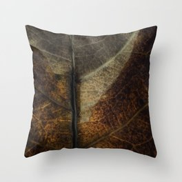 Leaf Seven Throw Pillow