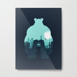 Welcome To Monsters, Inc. Metal Print