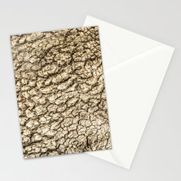 Tree golden textures Stationery Cards