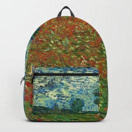 Vincent Van Gogh Poppy Field Backpack