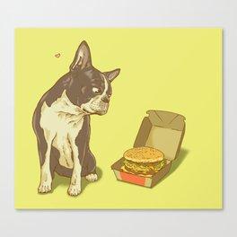 Mason + Big Mac = <3 Canvas Print