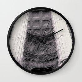 Old Montreal Columns Wall Clock