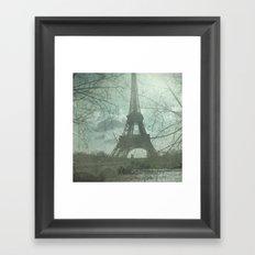 Monday in Paris Framed Art Print