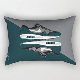 Air max essential 1 green/gray #3 Rectangular Pillow