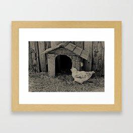 Cluck Framed Art Print