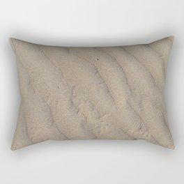 Barwon Heads Print   Bellarine Peninsula   Australia Beaches   Water Ripples in the Sand Rectangular Pillow