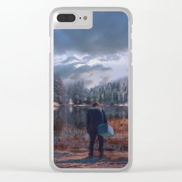 The coming of the dawn Clear iPhone Case