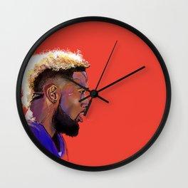 Odell Beckham Jr. Wall Clock