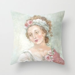 Angelique Throw Pillow