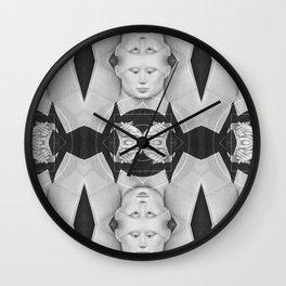 Portrait d'une dame — Flemish Division Wall Clock