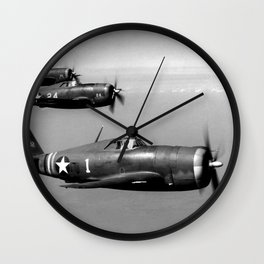 P-47 Thunderbolt Wall Clock