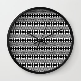 Not Another Triangle Pattern Wall Clock