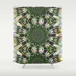Quell - Squeezed in Q of Alphabet collection Shower Curtain