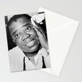 Louis Armstrong (1953) Stationery Cards