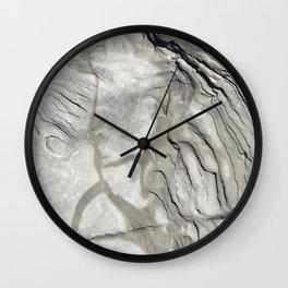 Bay of Fundy Rock No.1 | Texture | Nadia Bonello | Canada Wall Clock