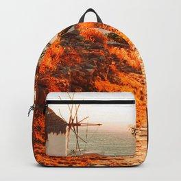 Greek, Mykonos Morning Backpack
