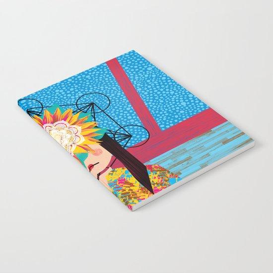 Sunflower Girl Notebook