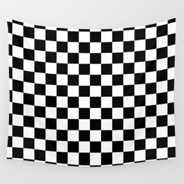 Checkered Flag Wall Tapestry