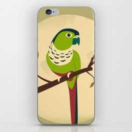 Green Cheek Conure iPhone Skin