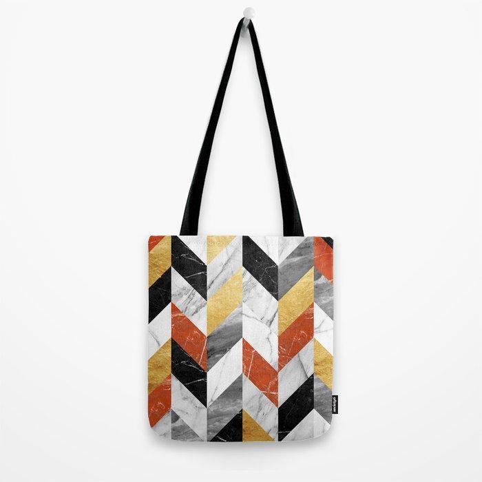 Marble Pattern Tote Bag