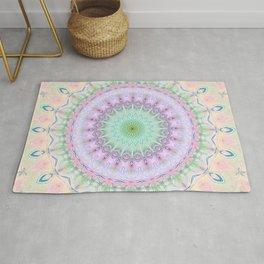 Mandala pastel no. 4 Rug