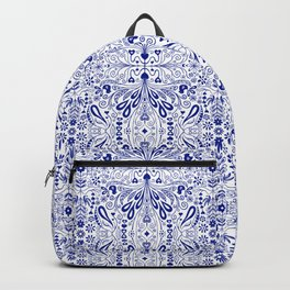 Chinoiserie Folk Seamless Pattern Backpack