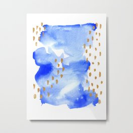 02 go with the flow Metal Print