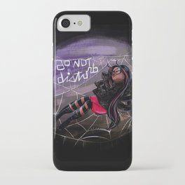 Bug Girls: Napping Spider iPhone Case